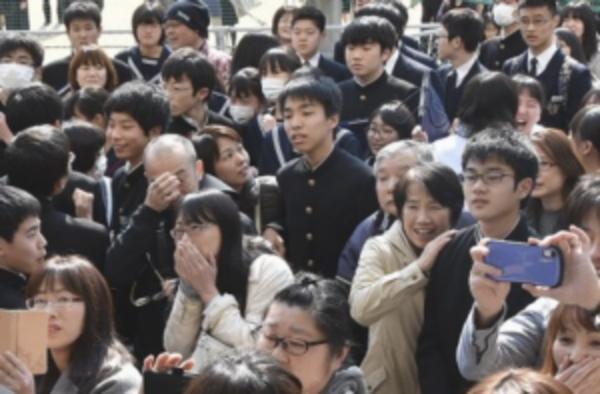 春の喜びー6年連続高校入試全員合格!